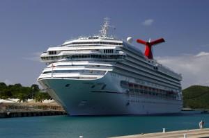 Krydstogtskib i Charlotte Amalie, St. Thomas