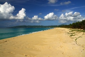 Stranden ved Sandy Point, St. Croix