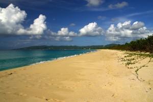 Stranden ved Sandy Point, St. Croix