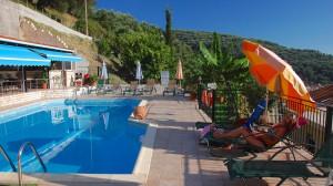 Pool området på Hotel Margarita