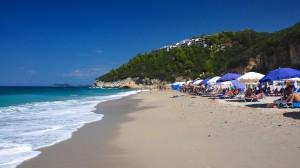 Karavostasi stranden