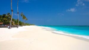 Strand på Kuredu