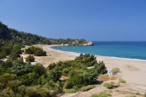 Megalo Seitani stranden