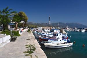 Et af de mange hyggelige steder på Samos - Havnen i Ormos