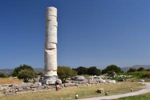 På besøg ved Hera templet