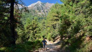 På vandretur ved Panagia