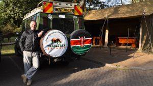 Safari med Transtrek foregik i Landcruiser