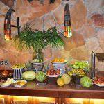 Frugt-bordet på Sarova Mara