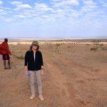 På bushwalk nær Masai Mara